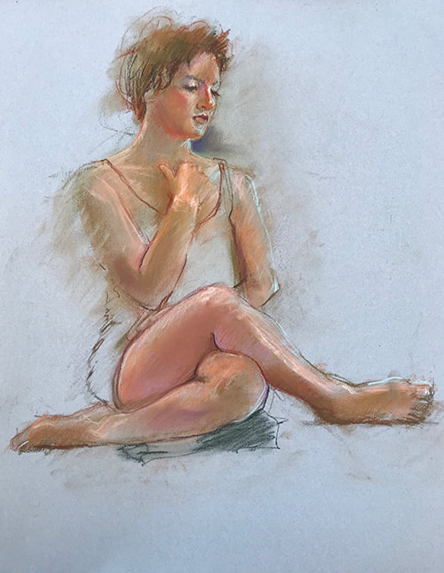 Figuratives Pastels Gallery