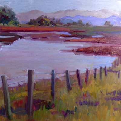 Gnoss Marsh by Kathleen Lack