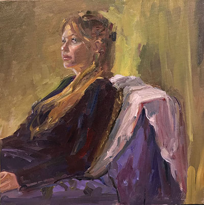 Heidi in Purple by Kathleen Lack