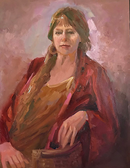 Heidi in Red by Kathleen Lack