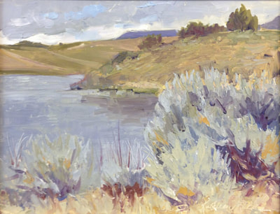 Krumbo Lake by Kathleen Lack