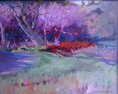 Spring Trees by Kathleen Lack