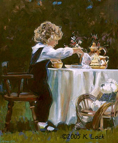 Tea Party by Kathleen Lack