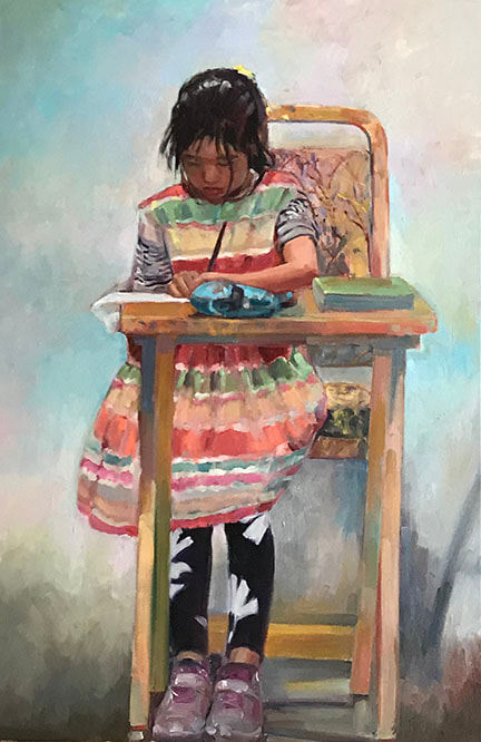 The Little Artist by Kathleen Lack