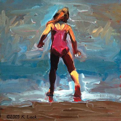 The Tap Dancer by Kathleen Lack