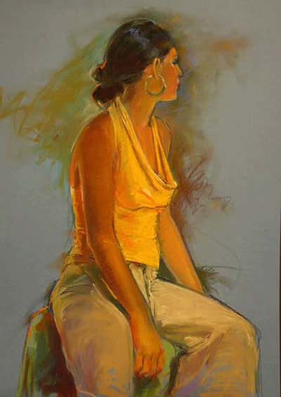 Yellow Top by Kathleen Lack